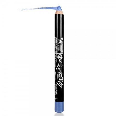 Тени-карандаш PuroBio тон 12 васильковый, 2,3 гр