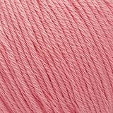 Пряжа Gazzal Organic Baby Cotton 425 розовый бутон