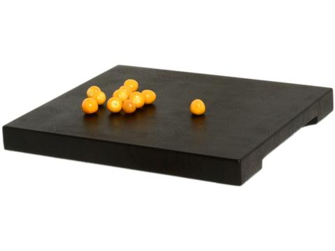 деревянная  Торцевая разделочная доска 40x34x4 см. венге