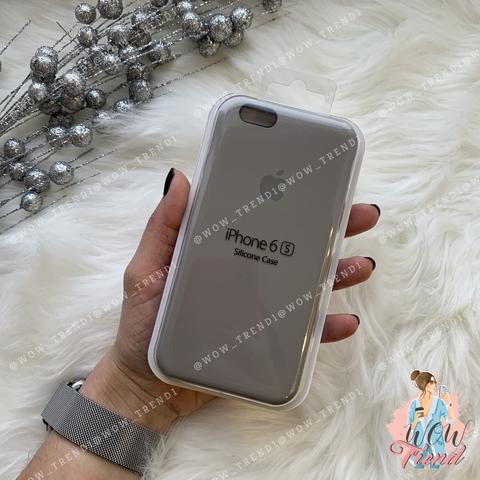 Чехол iPhone 6/6s Silicone Case /pebble/ ракушка 1:1