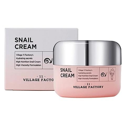 Village 11 Factory Snail Cream регенерирующий крем с муцином улитки