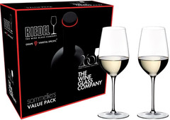 Набор из 2-х бокалов для вина Riedel Riesling Grand Cru, Sommeliers Value Pack, 380 мл, фото 4
