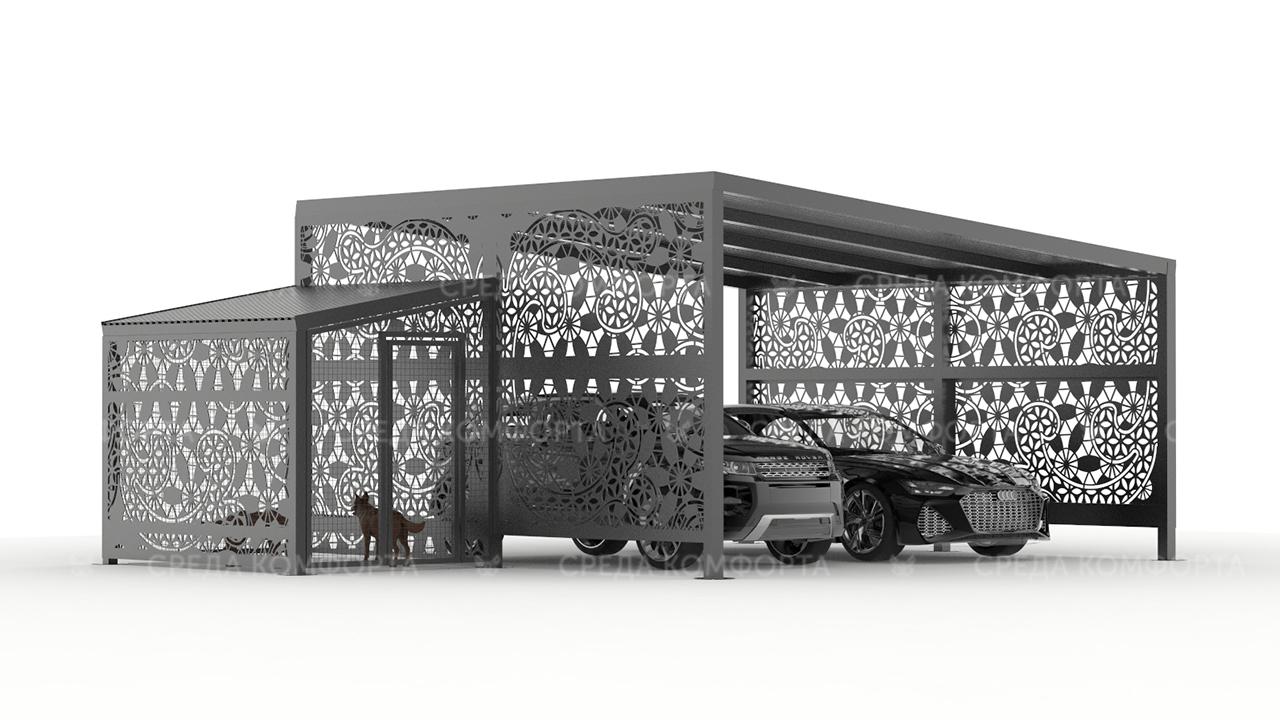 Навес для автомобиля AVNVS0058