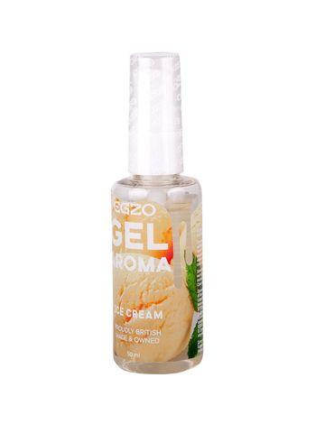 Интимный лубрикант Egzo Aroma с ароматом мороженого - 50 мл.