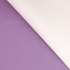 Пленка для цветов матовая двухсторонняя, Нежно-сиреневая/Фиолетовая, 60*60 см, 10 листов, 1 уп.