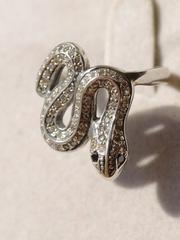 Кобра 2 (кольцо  серебра)