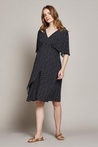 Платье для беременных 10205 черный