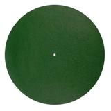 Слипмат Для Проигрывателя Виниловых Пластинок (Pro-Ject Felt Mat - Green)