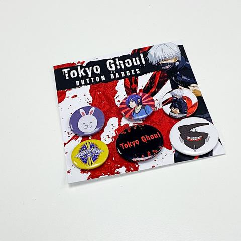 Набор значков TOKYO GHOUL (Mix)