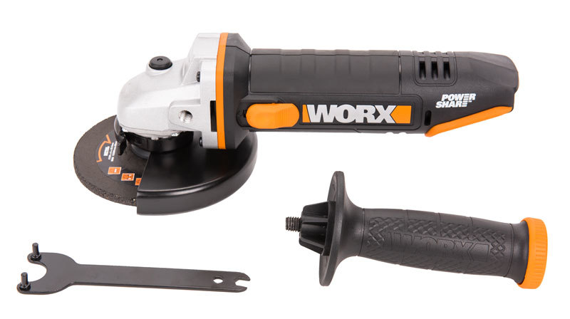 Угловая шлифмашина аккумуляторная WORX WX803.9 20В