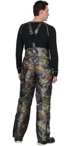 Костюм КМФ зимний: куртка длинная брюки Темный лес