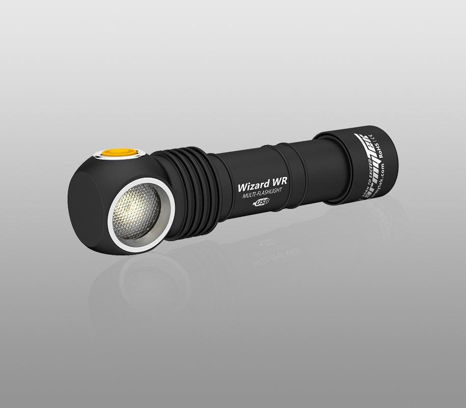 Мультифонарь Armytek Wizard WR Magnet USB (теплый-красный свет) - фото 2