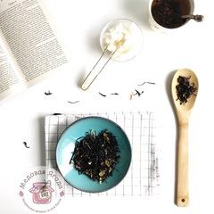 Таёжный сбор. Чай с клюквой и брусничным листом.