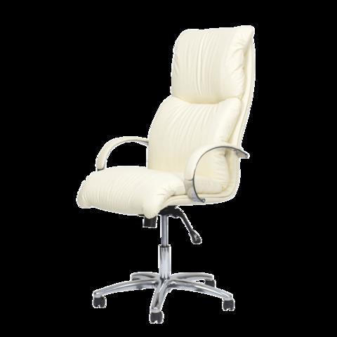 Педикюрное кресло Надир Люкс пятилучье хром