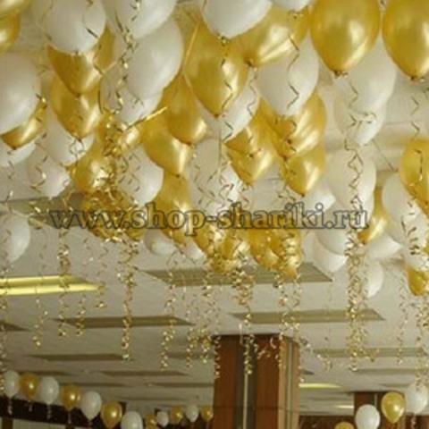 Шары на свадьбу в банкетный зал