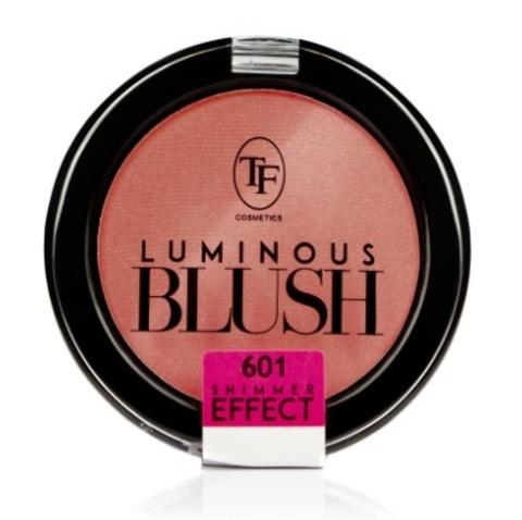 ТФ Румяна пудровые с шиммер эффектом- тон 601 Розовый