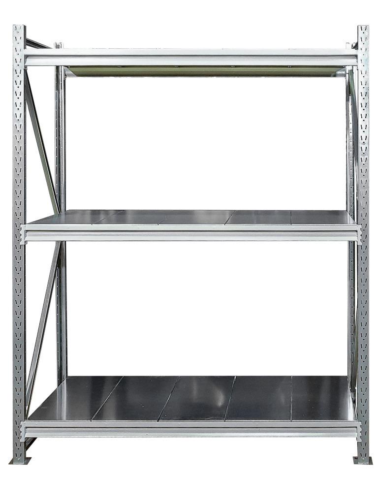 Усиленные металлические стеллажи (глубина 800, высота 2500 мм)