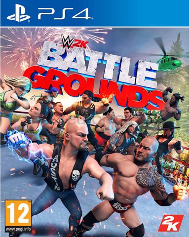 WWE 2K Battlegrounds (PS4, английская версия)