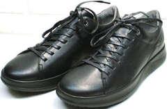 Мужские модные кеды кроссовки осень Ikoc 1725-1 Black.