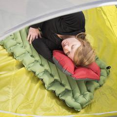 Коврик надувной Klymit Static V pad зеленый 06SVGr02C - 2