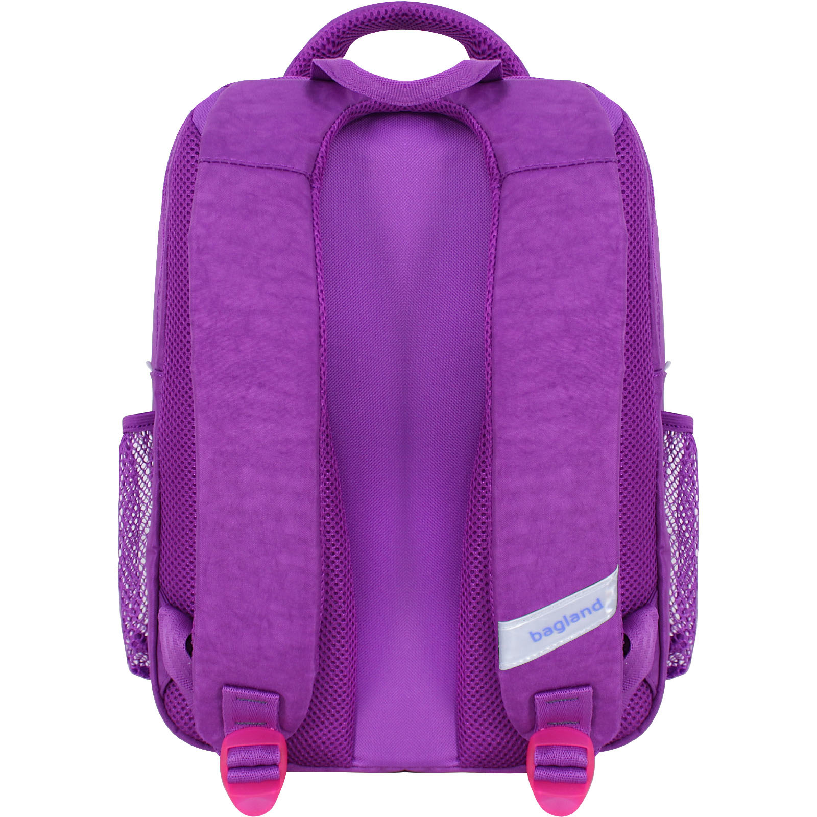 Рюкзак школьный Bagland Школьник 8 л. фиолетовый 890 (0012870)