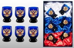 Подарочный набор стопок «Российский-2», фото 1