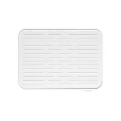 Силиконовый коврик для сушки посуды, Светло-серый