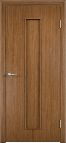 Дверь С-21 (орех, глухая шпон файн-лайн), фабрика Верда