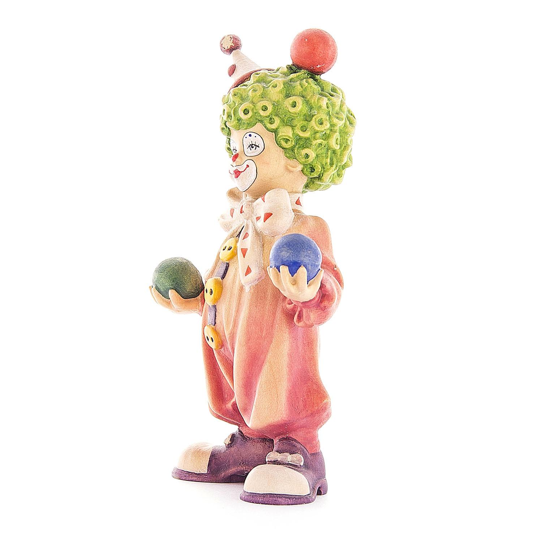 Клоун-мальчик с мячиками