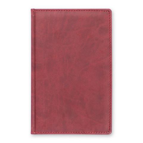 Телефонная книга Attache Вива искусственная кожа А5 96 листов бордовая (133х202 мм)