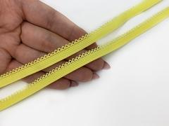 Резинка отделочная желтая 9 мм