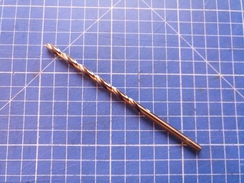 Сверло по металлу удлиненное ц/x 5,0x132/87мм DIN340 h8 10xD HSSE-Co5 135° H-Tools 1670-1050