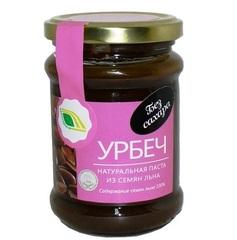 Урбеч из семян, Биопродукты, из семян льна, 280 г