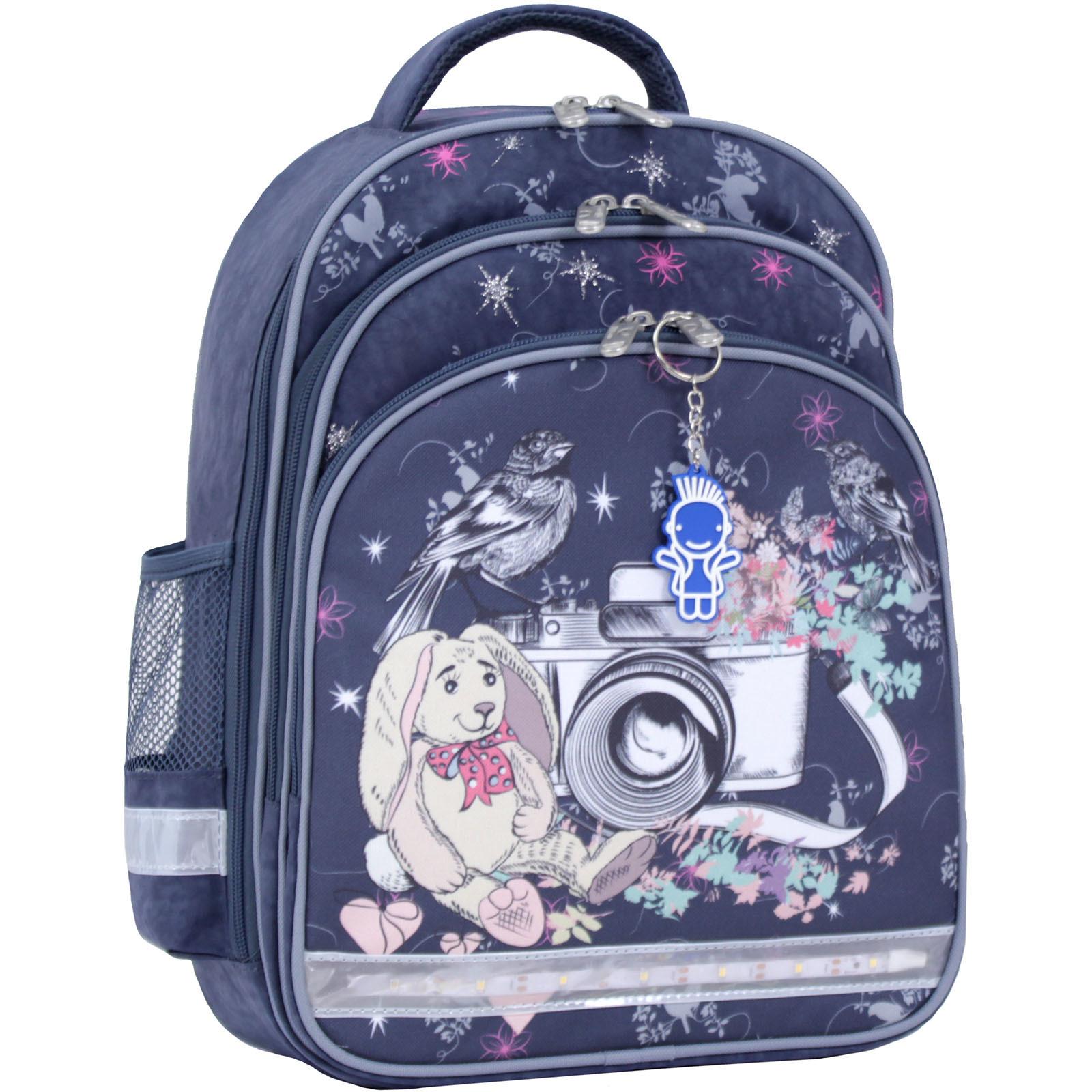 Рюкзак школьный Bagland Mouse 321 серый 210к (0051370) фото 1