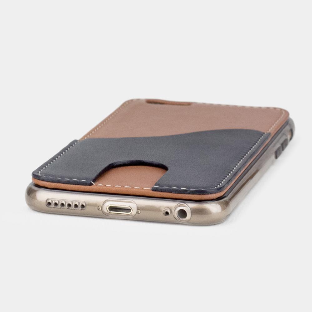 Чехол-накладка Andre для iPhone 6/6S из натуральной кожи теленка, коричневого цвета