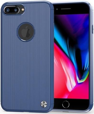 Чехол для iPhone 7 Plus (8 Plus) цвет Blue (синий), серия Bevel от Caseport