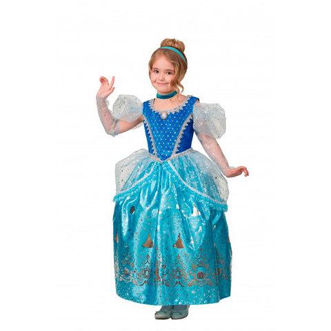 Карнавальный костюм детский Принцесса Золушка