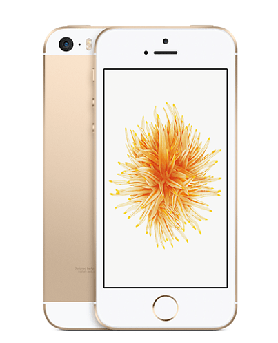 iPhone SE Apple iPhone SE 16gb Gold gold-min.png