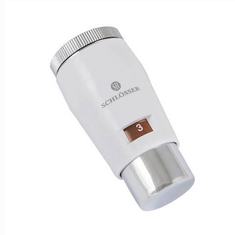 Головка термостатическая MINI M30x1,5 Белый-Хром