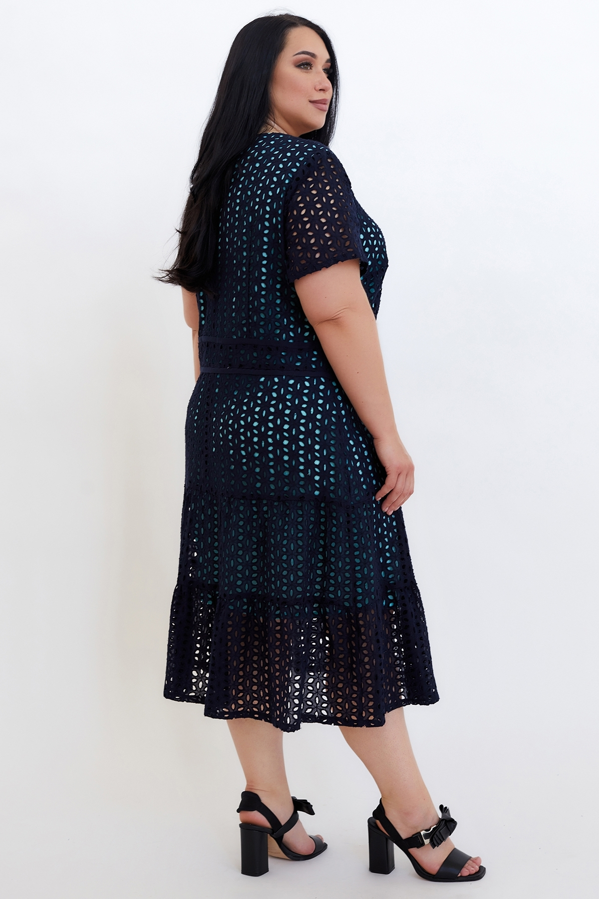 Сукня Віолетта  (Виолетта) (синий-бирюза)