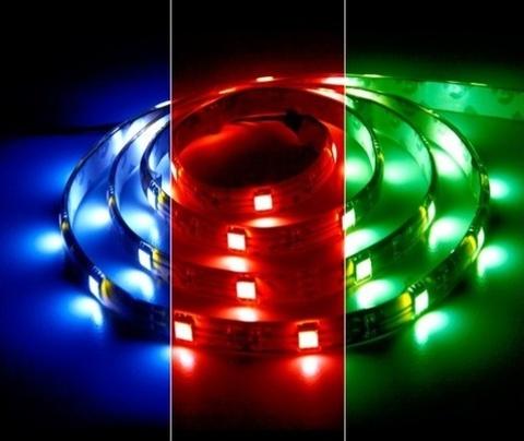 Светодиодная лента RGB 5050 30LED IP33 7.2W 12V