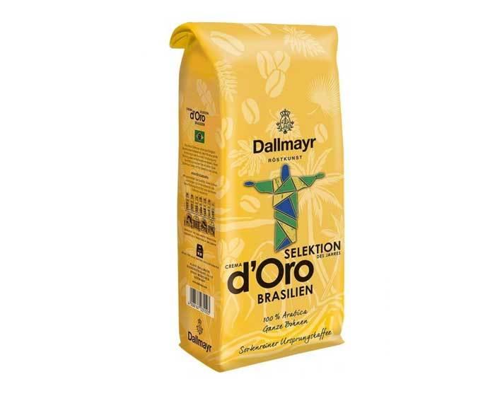 Кофе в зернах Dallmayr Crema d'Oro Brasilien, 1 кг