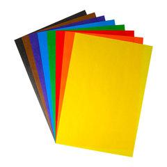 Бумага цветная, 2-сторонняя, офсетная Каляка-Маляка (А4, 8 цветов, 16 листов, 75 г/м2) в папке, БЦДКМ16