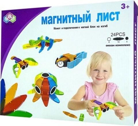 Конструктор «Магнитные лепестки» (24 дет.)