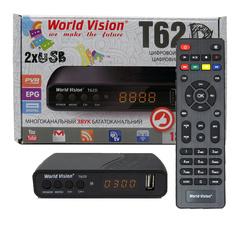 Цифровая приставка DVB-T2 World Vizion T62D