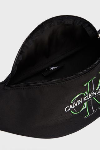 Мужская черная поясная сумка WAISTBAG GLOW Calvin Klein