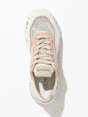 Комбинированные кроссовки Premiata Scarlett 5230 на шнуровке