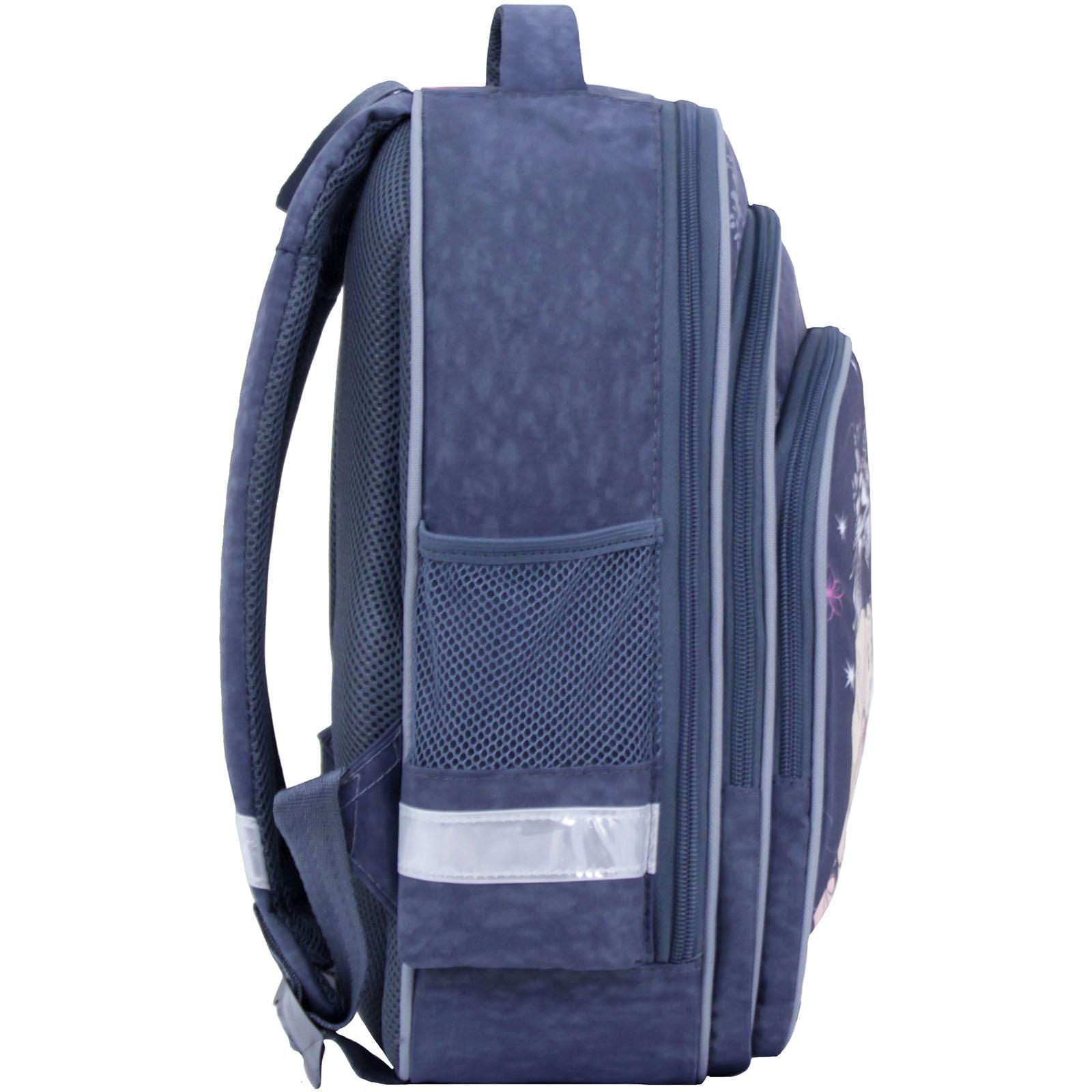 Рюкзак школьный Bagland Mouse 321 серый 210к (0051370) фото 3