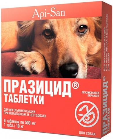 Празицид для собак 6 таб.