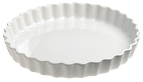 Фарфоровая форма для пирога, белая, артикул 005645, серия French Classics